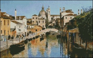 Rio Ognissanti - Venice - Medium Large