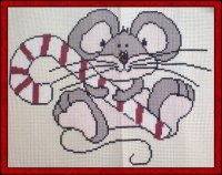 Candy Cane Mouse
