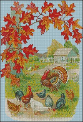 Autumn on the Farm - Click Image to Close