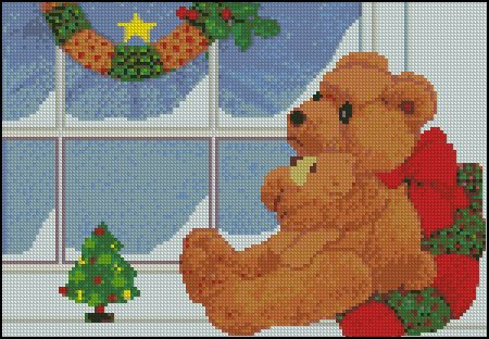 Christmas Bears - Click Image to Close