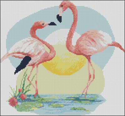 Flamingos - Click Image to Close