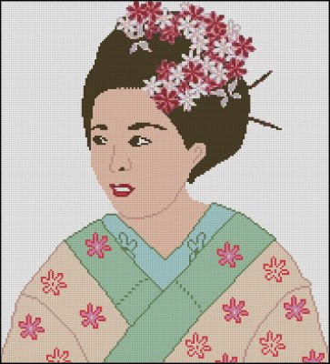 Geisha Girl - Click Image to Close