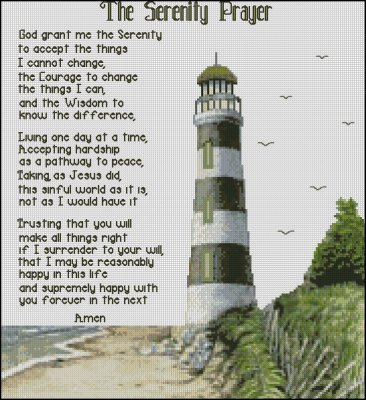The Serenity Prayer - Click Image to Close