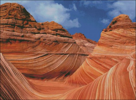 Wave Rock - Arizona USA - Large - Click Image to Close