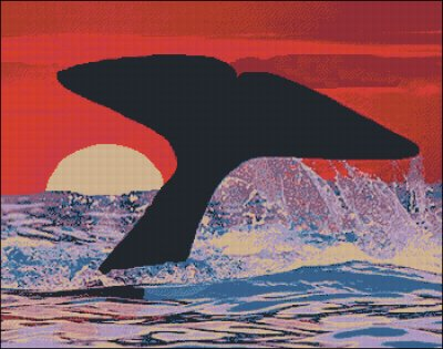 Whale Tail - Medium Large - Click Image to Close